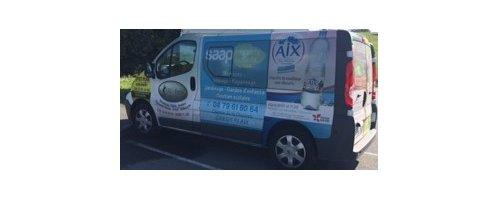 Partenariat minibus publicitaire de l'ACEJ